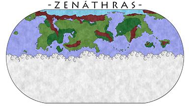 Zenáthras